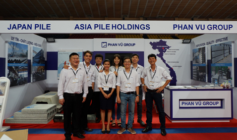 Phan Vu participate in Concrete and Cement Expo Vietnam 2018