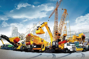 Purchase of construction machinery and materials