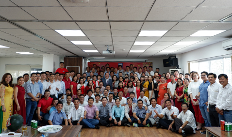 Phan Vu Group celebrated Lunar New Year of the Pig 2019
