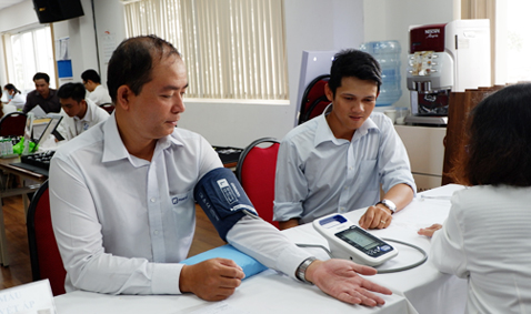 Periodic health checks in 2019 for all employees of Phan Vu